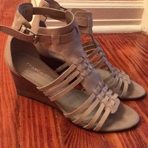 Franco Sarto Strappy Wedges